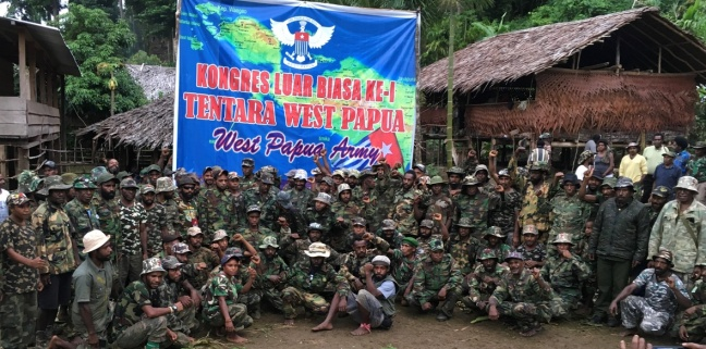 West Papuan military personnel