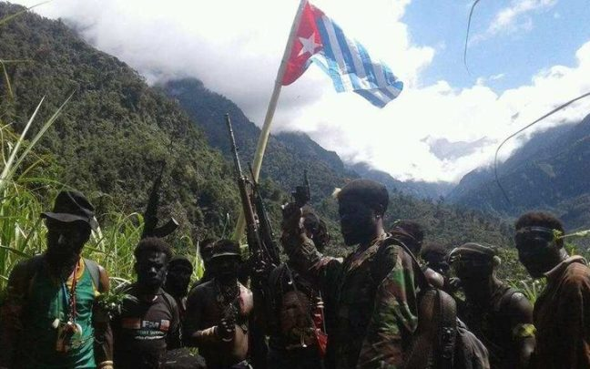 Since the latter part of 2017, fighters with the West Papuan Liberation Army, or TPN, have intensified hostilities with Indonesia's military and police in Tembagapura and its surrounding region in Papua's Highlands. Photo: RNZ / Suara Wiyaima