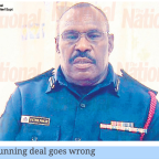Vanimo: Gunrunning deal goes wrong