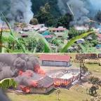 BREAKING NEWS: Oksibil On Fire